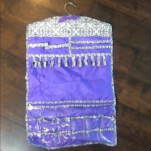 Jewelry organizer. Travel or home. Hanging